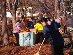 堆肥作り まちのガーデナー講座