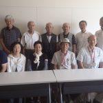 広報委員の取材日記  「トレッキング講座の修了生と連携」
