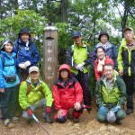 トレッキング講座・第1回野外学習「日和田山」